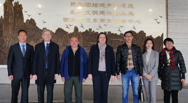 Swiss Ambassador and Consul General visit Kunming